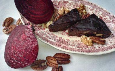 Čokoládový dort z řepy