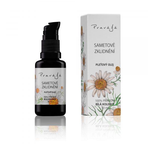 Obličejový olej heřmánek/levandule 30 ml
